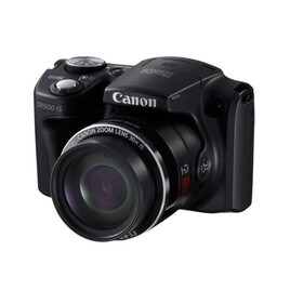 Canon PowerShot SX500 IS Digital Camera (Black) Reviews