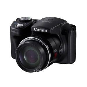 Photo of Canon PowerShot SX500 IS Digital Camera (Black) Digital Camera