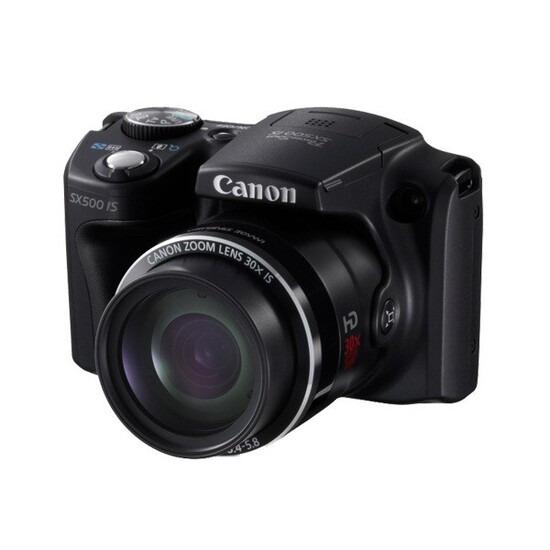 Canon PowerShot SX500 IS Digital Camera (Black)