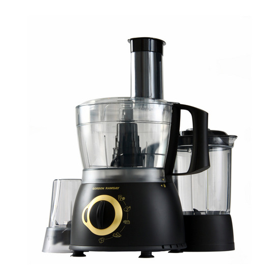 GORDON RAMSAY GRFP02 Prep 'N' Blend Food Processor - Black
