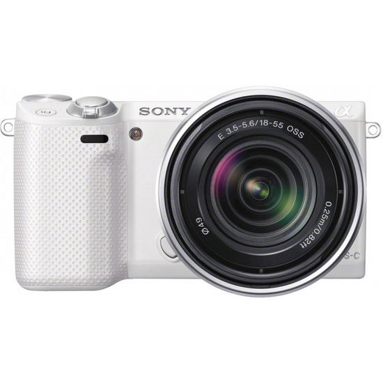 Sony NEX-5R with 18-55mm Lens