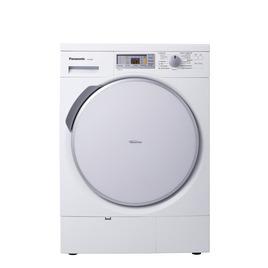 Panasonic NHP80G1 Condenser Tumble Dryer - White