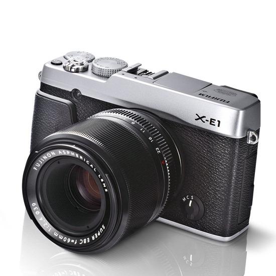 Fujifilm X-E1 with 18-55mm XF Lens
