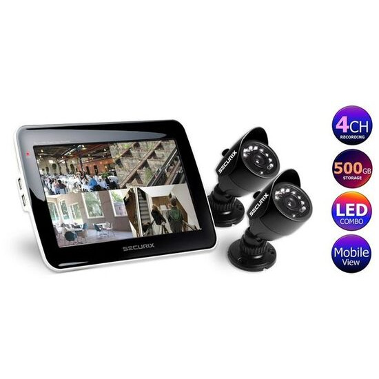 Securix SMC4-KIT SMC4 (500GB) CCTV Kit