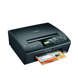 Brother DCP-J315W Wireless All-in-One Colour Inkjet Printer with PT1080 Handheld LaBelling System