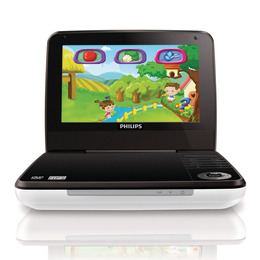Philips PD7010/05 Portable DVD Player Reviews