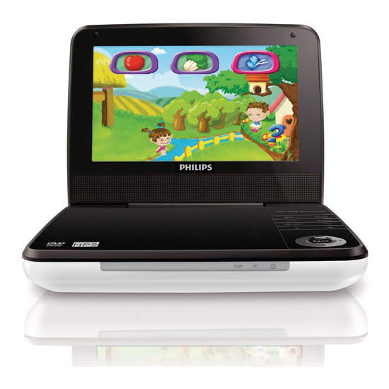 Philips PD7010/05 Portable DVD Player