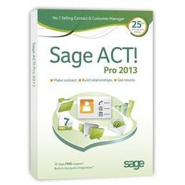 Sage ACT! 2013 Pro