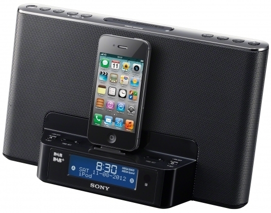 sony dab xdrds16 clockradio dock reviews and price comparison. Black Bedroom Furniture Sets. Home Design Ideas
