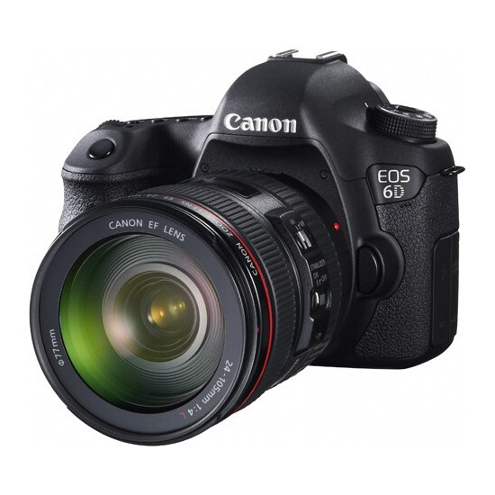 Canon EOS 6D with 24-105mm Lens