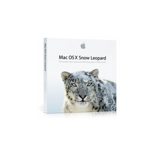 Apple Mac OS X 10.6 Snow Leopard - MC223Z/A