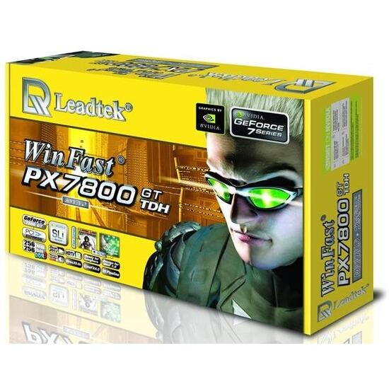 256MB Leadtek PX 7800GT-TDH