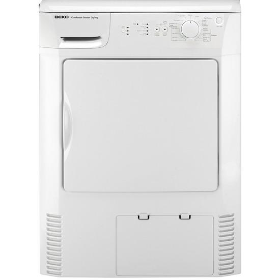 Beko ( U K) Ltd - Condenser Tumble Dryer - DRCS76W(CIH)-ex-display