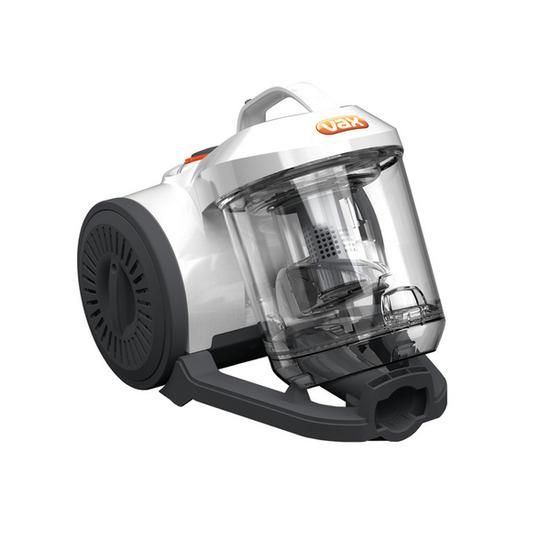 Vax C88-W2-B Cylinder Bagless Vacuum Cleaner - White