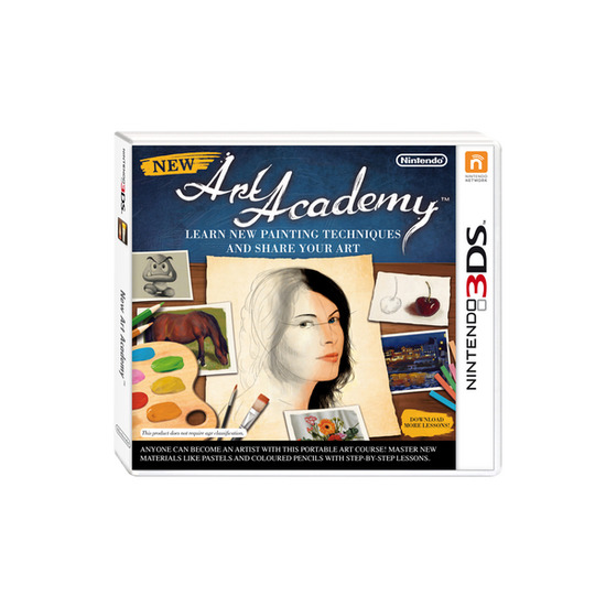Nintendo New Art Academy - Nintendo 3DS