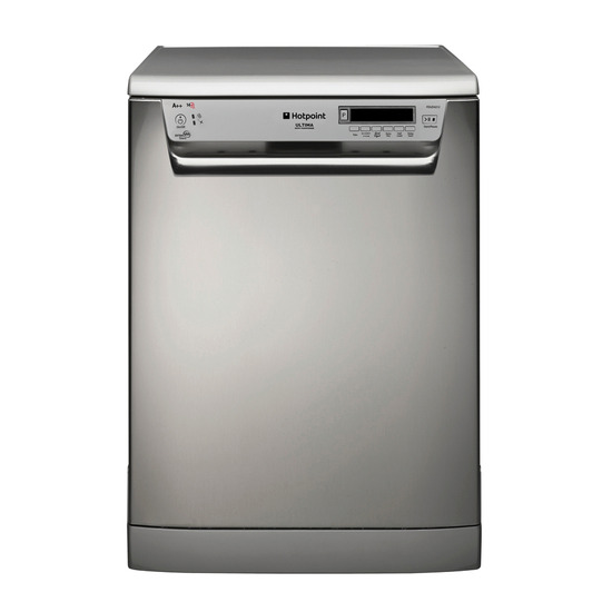 Hotpoint FDUD43133X Freestanding Dishwasher Ultima Stainless Steel