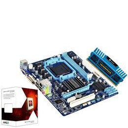 AMD Prebuilt Bundle with Gigabyte GA-78LMT-S2P AM3+ Motherboard AMD FX-4100 Processor and Corsair 4GB Vengeance Blue Memory Reviews