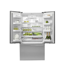 FISHER & PAYKEL RF540ADUX3 American Style Fridge Freezer - Stainless Steel Reviews