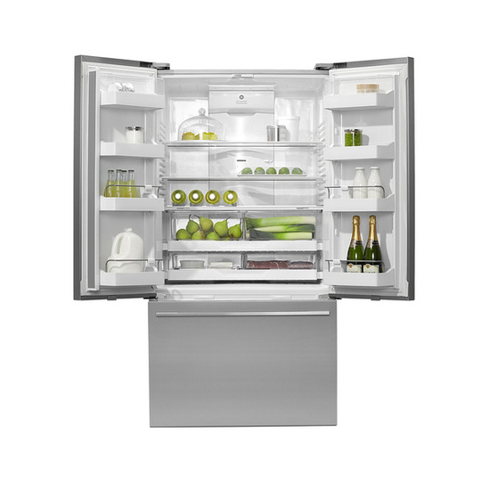 FISHER & PAYKEL RF540ADUX3 American Style Fridge Freezer - Stainless Steel