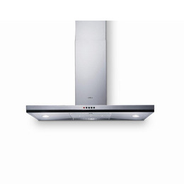 Cube 60 Chimney Cooker Hood - Stainless Steel