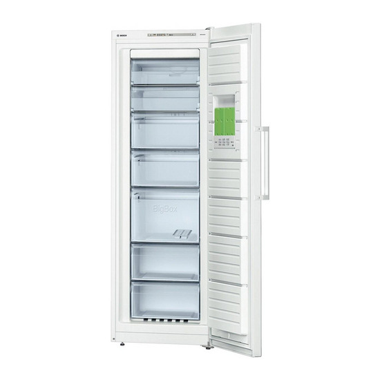 Bosch GSN33VW30G Tall Freezer - White