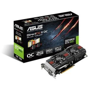 Photo of Asus GeForce GTX 660 DIRECTCU II NVIDIA Graphics Card 2GB Graphics Card