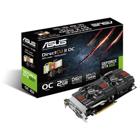 Asus GeForce GTX 660 DirectCU II Nvidia Graphics Card 2GB
