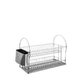 Round Stainless Dish Drainer with Tray Reviews