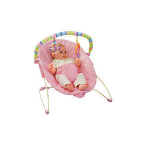 Photo of Bright Starts Pink Cradling Bouncer Baby Product