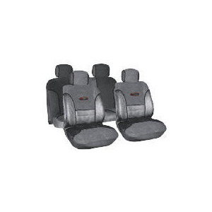 Photo of Targa Seat Cover Set Grey/Black Car Accessory