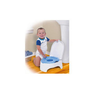 Photo of Summer All In One Potty - Blue Toilet Training