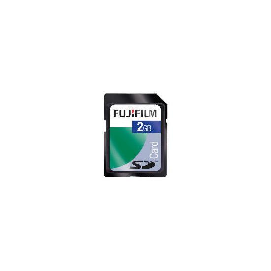 Fujifilm 2GB SD Card & Camera Case
