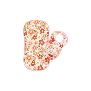 Photo of MAM Floral Print Roll N Go Changing Mat & Bib Set Baby Product