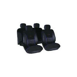 Photo of Targa Seat Cover Set Black/Blue Car Accessory