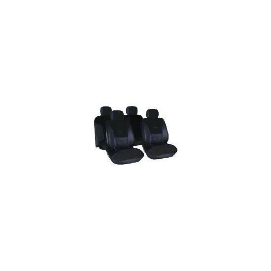 Targa Seat Cover Set Black/Blue