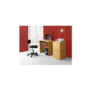 Photo of Rio Computer Desk, Oak Furniture