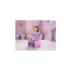 Photo of Fisher-Price Royal Princess Step Stool Potty Toilet Training