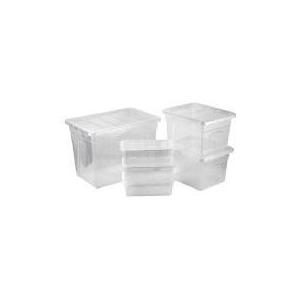 Photo of Mixed Size Plastic Storage Set Household Storage