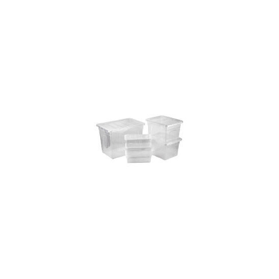 Mixed Size Plastic Storage Set