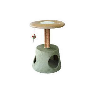 "Photo of Bamboo 24"" Cat Platform Tree Garden Furniture"