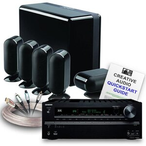 Photo of Creative Audio Home Theatre  CA-HC36-BB  Home Cinema System