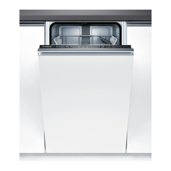 Bosch Bosch SPS53E18GB Slimline Dishwasher Stainless Steel