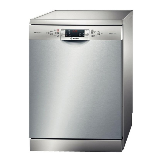 Bosch SMS65E28GB Full-size Dishwasher - Stainless Steel