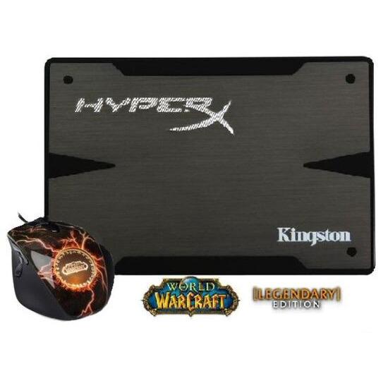 Kingston 240GB HyperX 3K SSD Warcraft Mouse Bundle