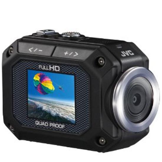 JVC GC-XA1 Action Cam Waterproof 1080P - Black