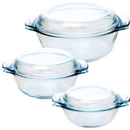 Pyrex 3-Piece Casserole Set Reviews