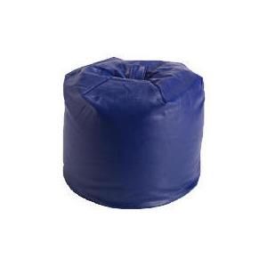 Photo of Stuk Faux Leather Beanbag - Navy Furniture