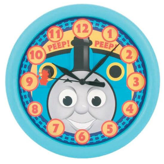 Thomas The Tank Engine Rotating Eye Wall Clock