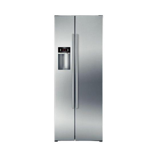 Bosch Exxcel KAD62V40GB American-Style Fridge Freezer - Silver