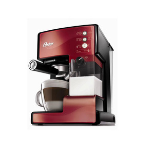 Photo of OSTER BVSTEM6601R-060 Espresso Machine - Red Coffee Maker